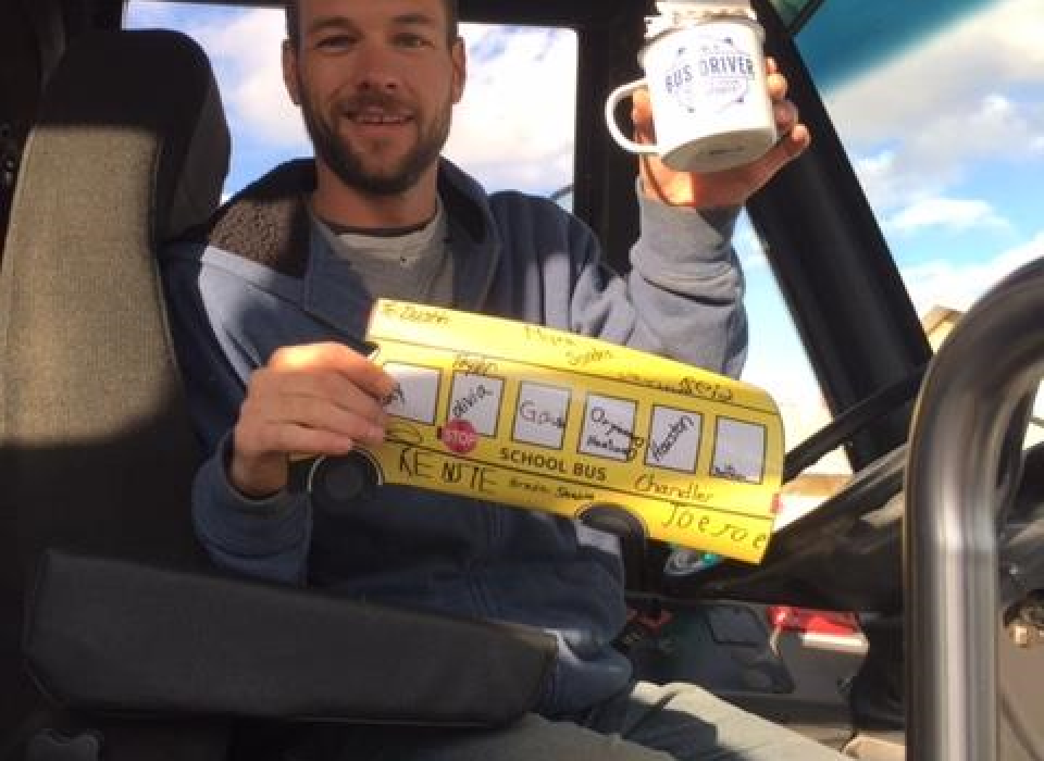 Bus Driver Appreciation Dustin