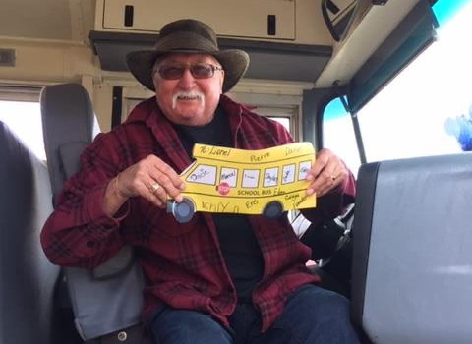 Bus Driver Appreciation Lionel