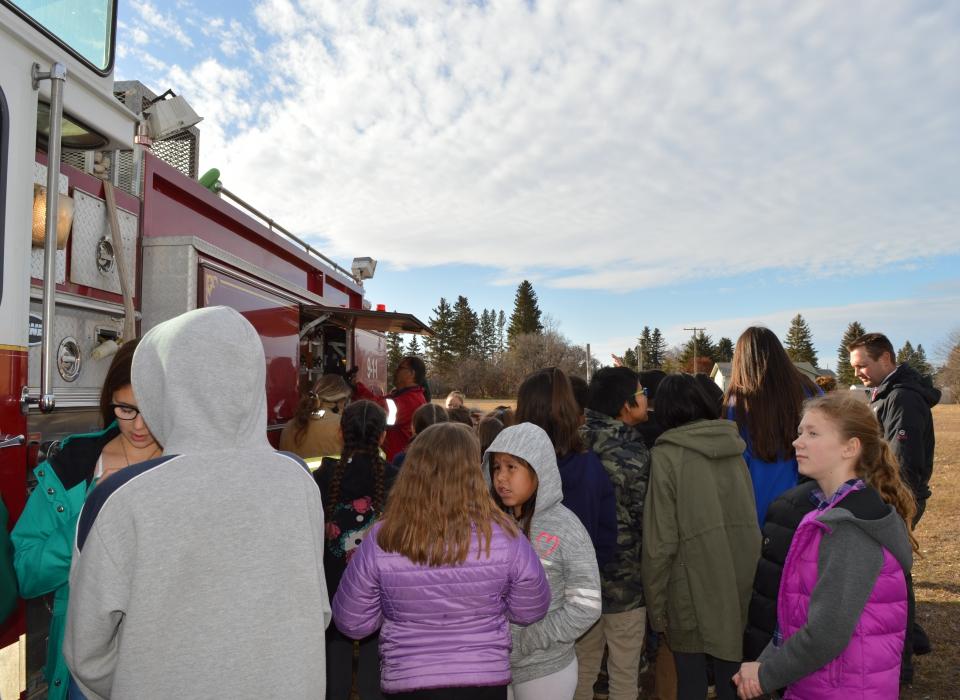 Volunteer Fire Fighter Demonstration (27)